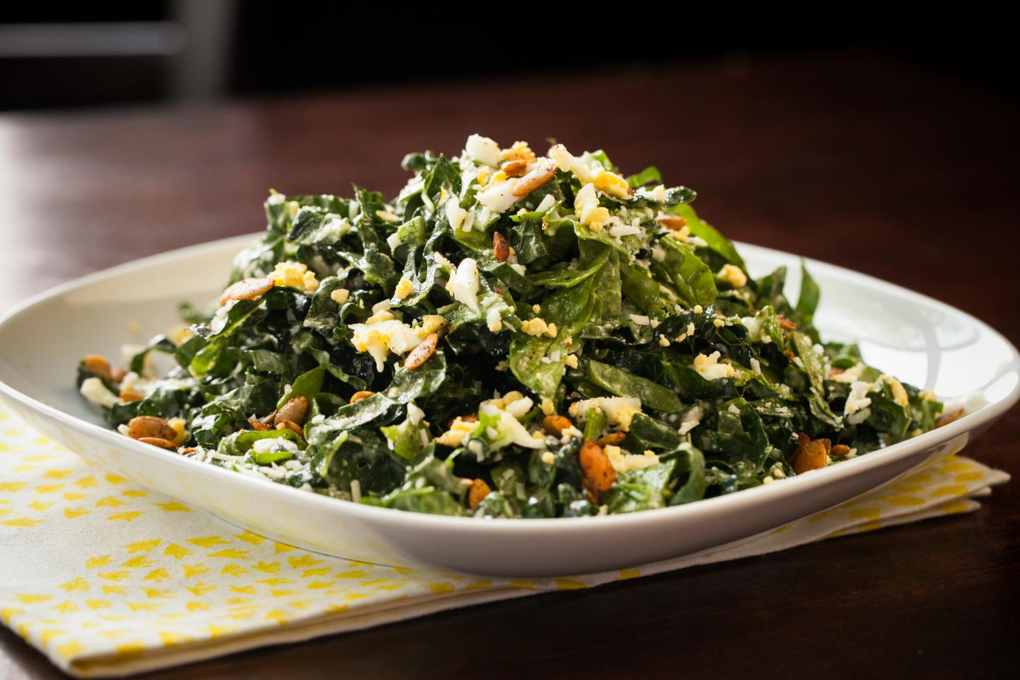 Wildfire Gluten-Free Tuscan and Kale Spinach Salad