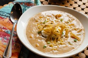 Turkey Chowder using Thanksgiving leftovers
