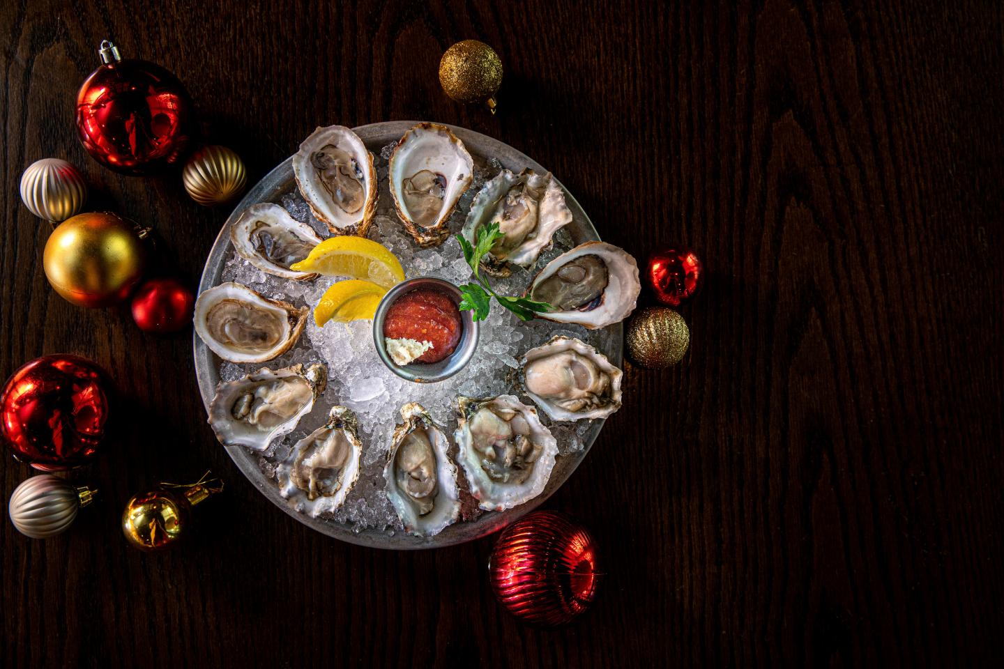 Quality Crab & Oyster Bah Holiday Party