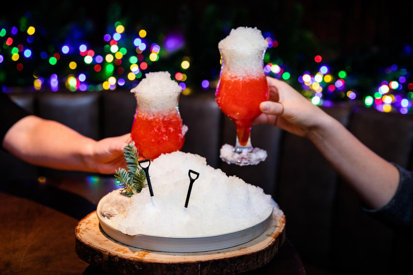 Three Dots and a Dash Eat the Yellow Snow cocktail