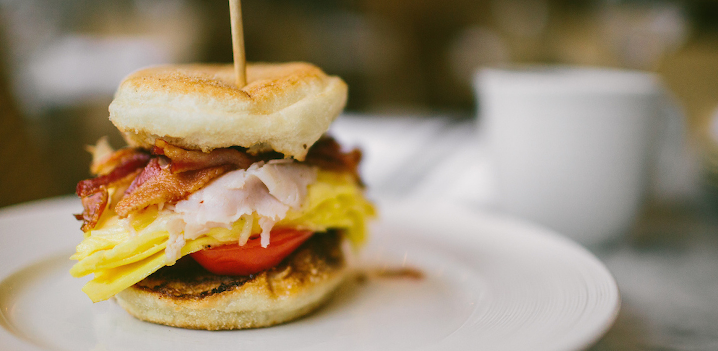 Image of a breakfast sandwich from M Street Kitchen