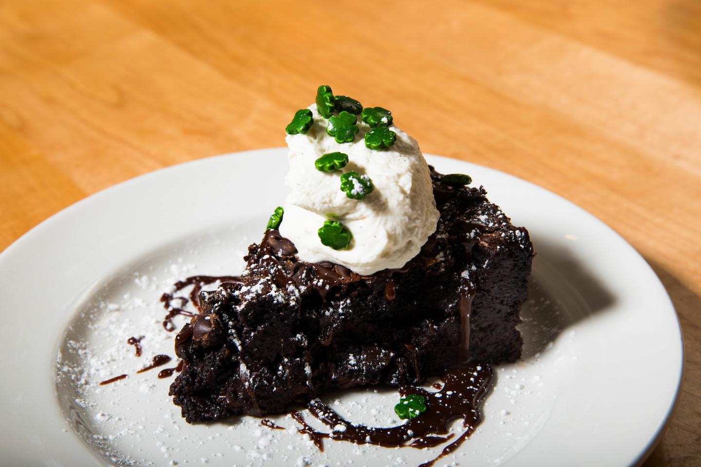 Mity Nice's baileys chocolate cake
