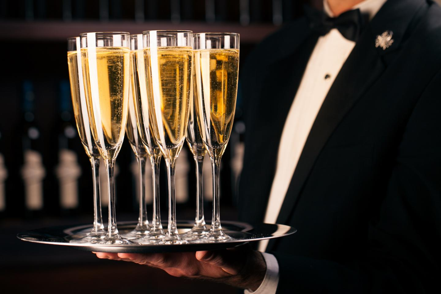 Joe's Champagne for New Year's