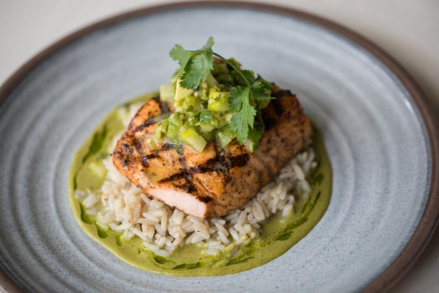 Grilled Salmon from the Havana Club menu