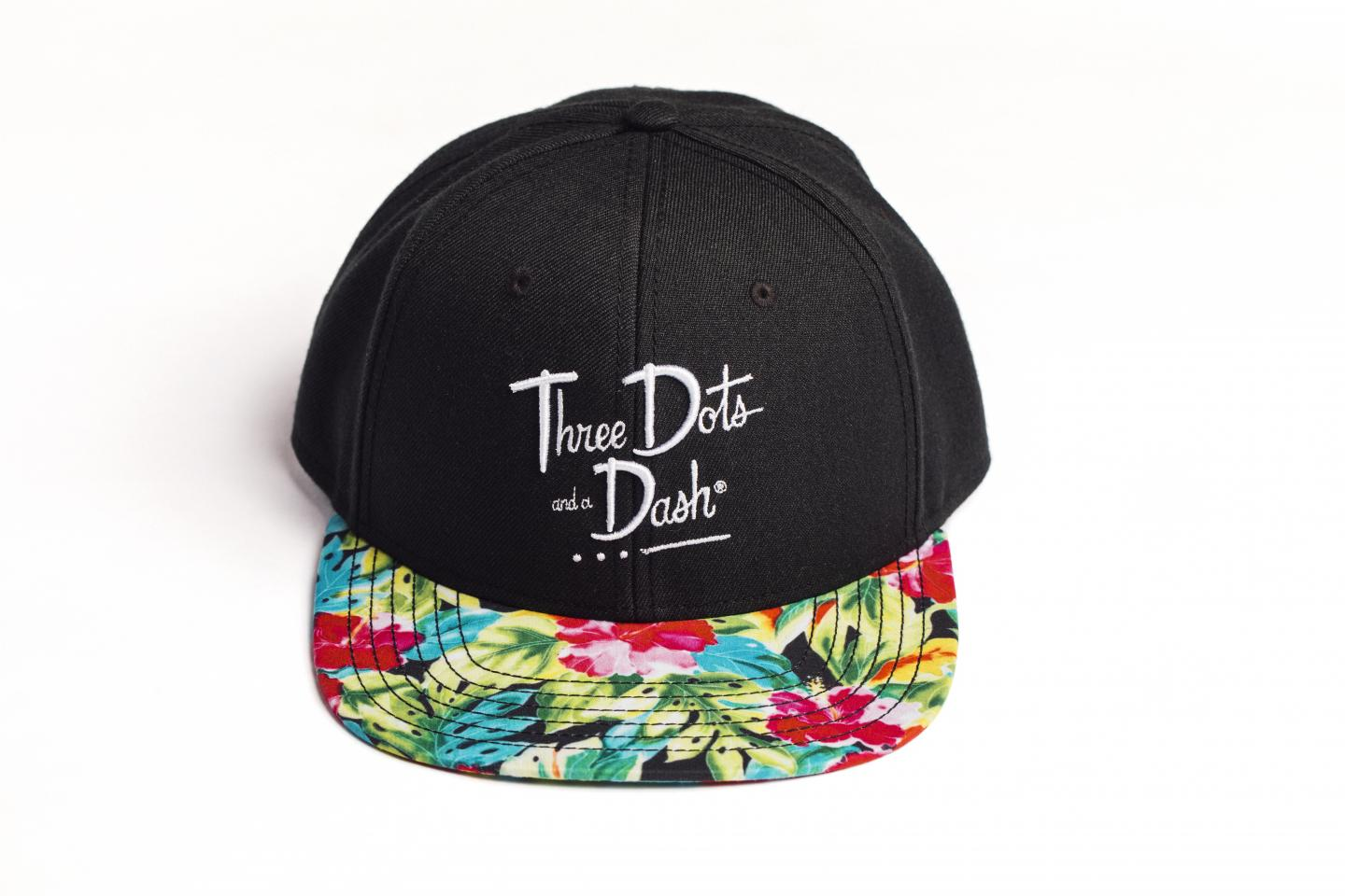 three dots and a dash hat