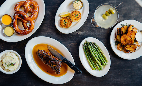 Steaks and sides and apps from Wildfire