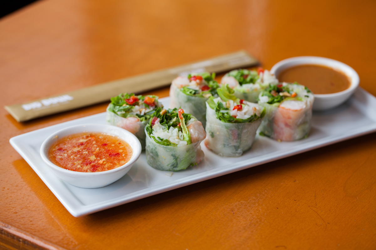 Spring Rolls at Big Bowl