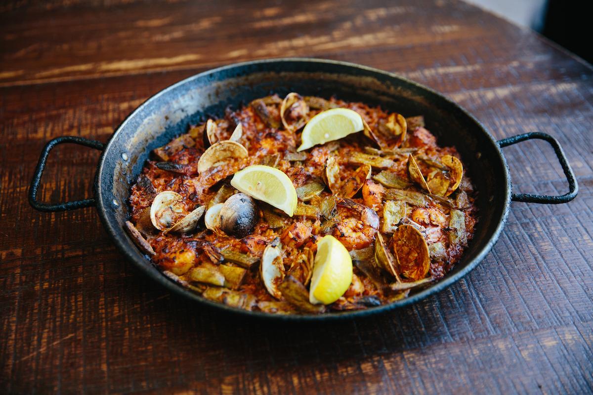 Cafe Ba Ba Reeba's paella