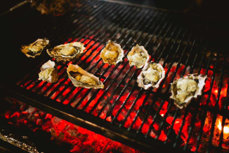 Oyster Fest Grilling