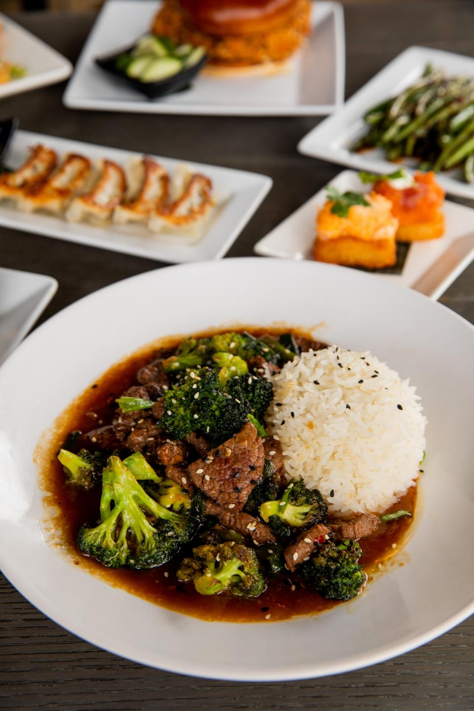 Tokio Pub Beef and Broccoli