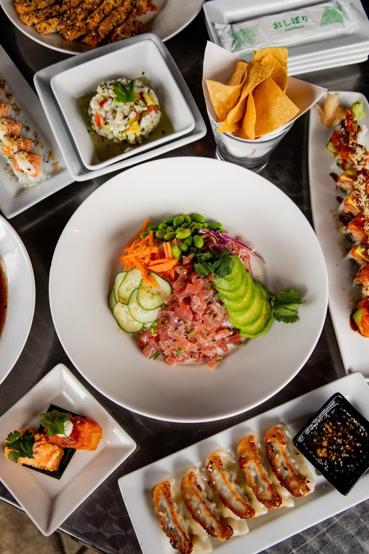 Tokio Pub Lunch Spread