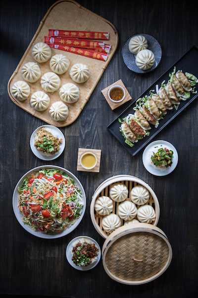 overhead of wow bao food