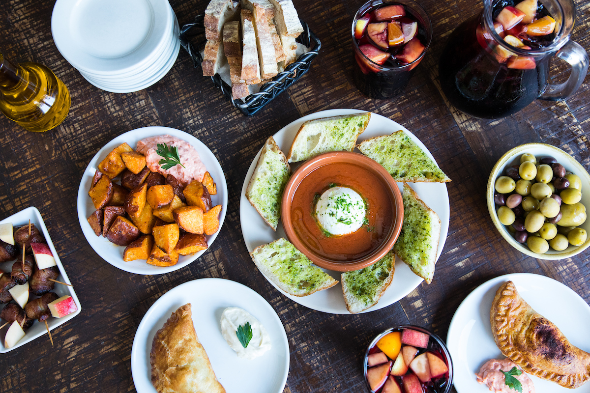 Create the perfect Christmas Eve tapas spread at Cafe Ba-Ba-Reeba!