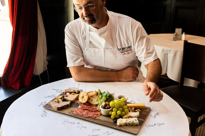 Chef Vincent Charcuterie Board Mon Ami Gabi