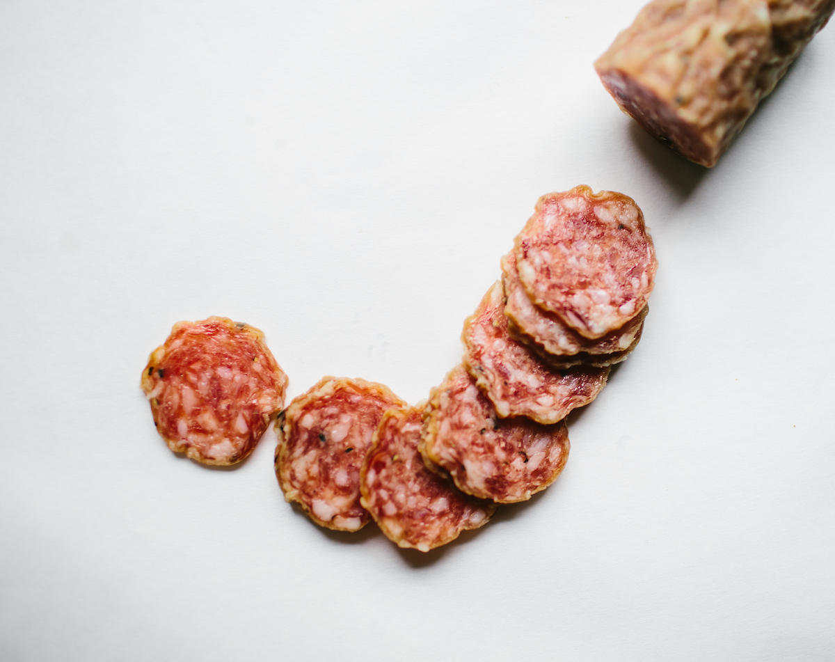 Mon Ami Gabi Charcuterie salami