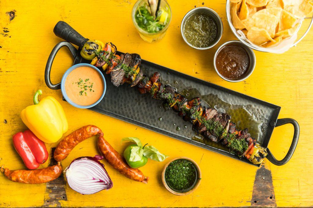 Brazilian Steak, Sausage and Chorizo from N27