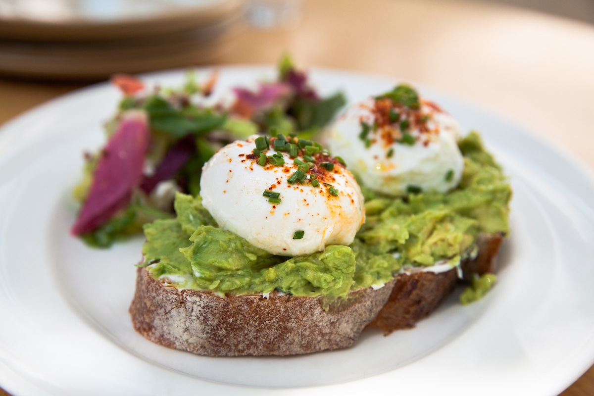 Signature Avocado Toast at Summer House Santa Monica