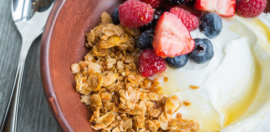 M Street Kitchen's housemade cinnamon-almond granola