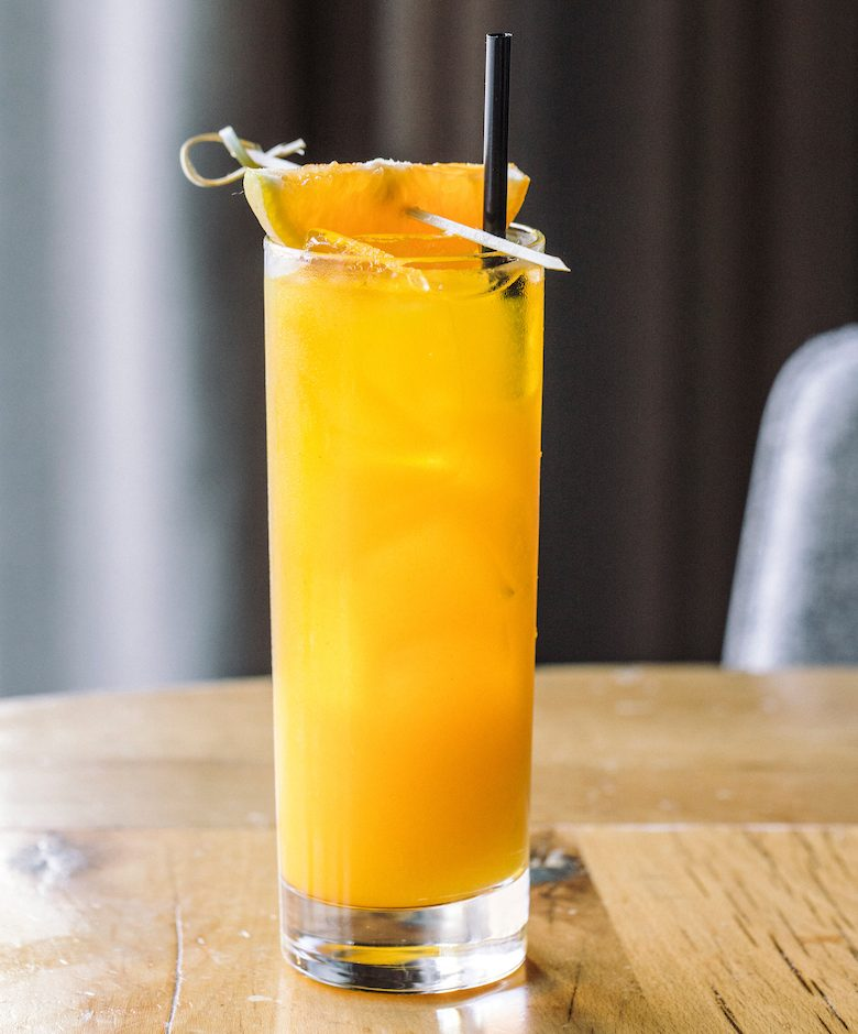 Beatrix (River North, Streeterville and Fulton Market locations) is offering a Turmeric Tonic cocktail featuring turmeric-infused bourbon