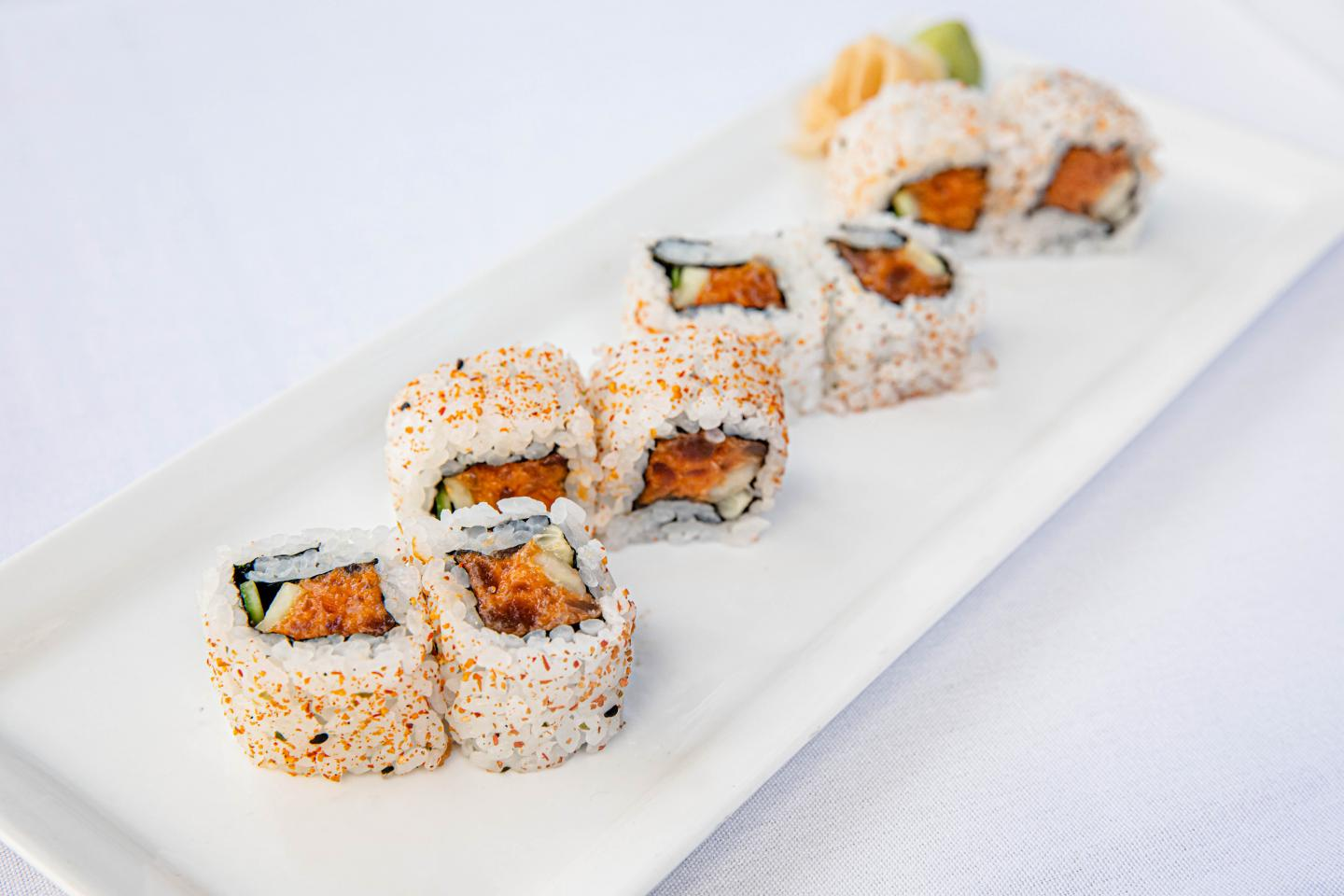 Shaw's Spicy Tuna Roll