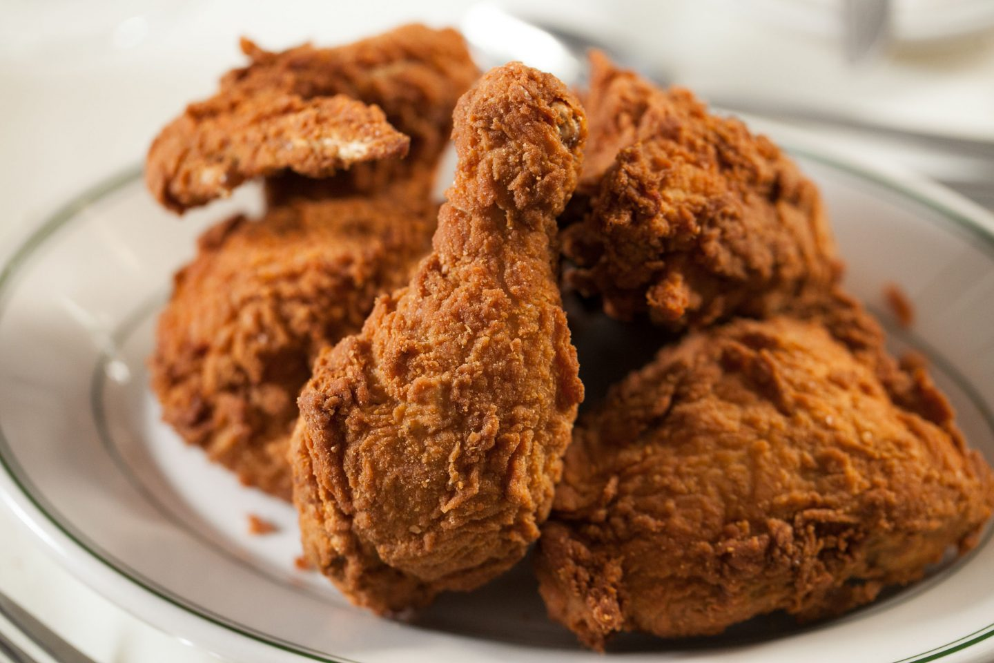Joe's iconic fried chicken