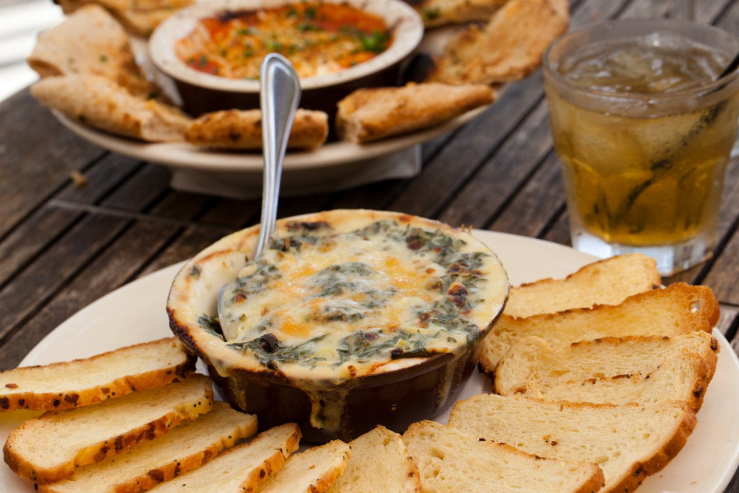 Wildfire Kale and Artichoke Dip