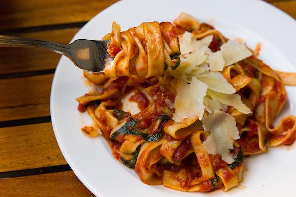 Gluten-Free Pasta from Osteria Via Stato
