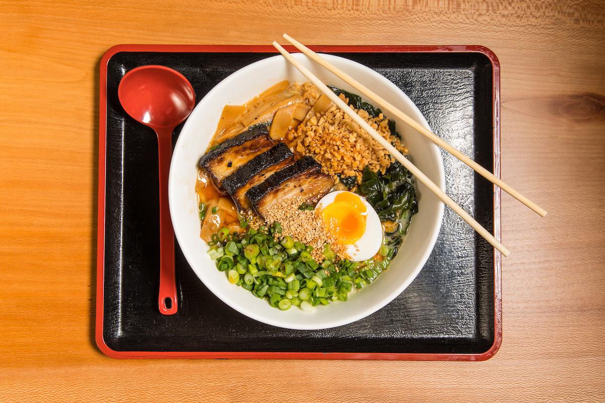 Ramen-san's hearty tonkotsu ramen