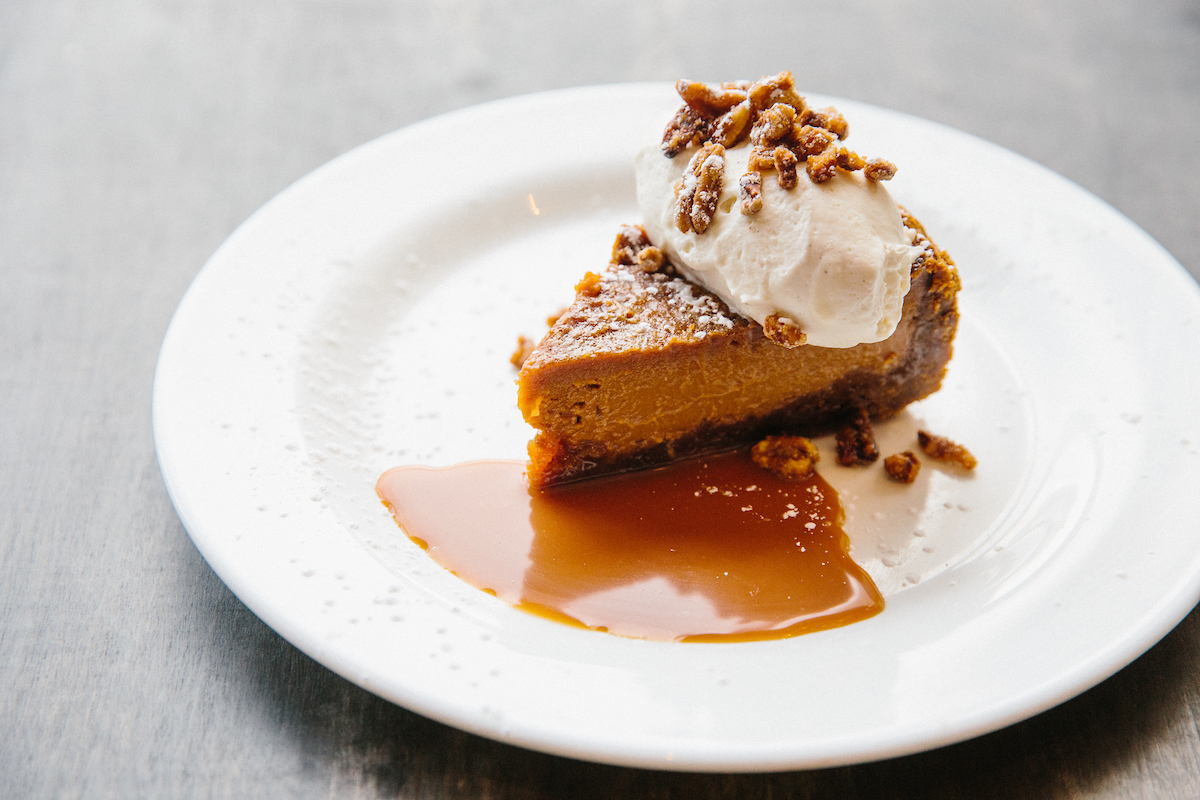 Reel Club's salted caramel pie