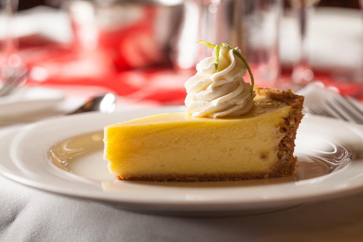 key lime pie at shaw's and oyster bah
