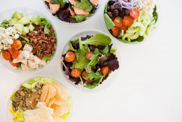 custom salads from community canteen