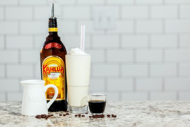 Boozy Tres Leches Milkshake with Khalua from Sripburger for march madness