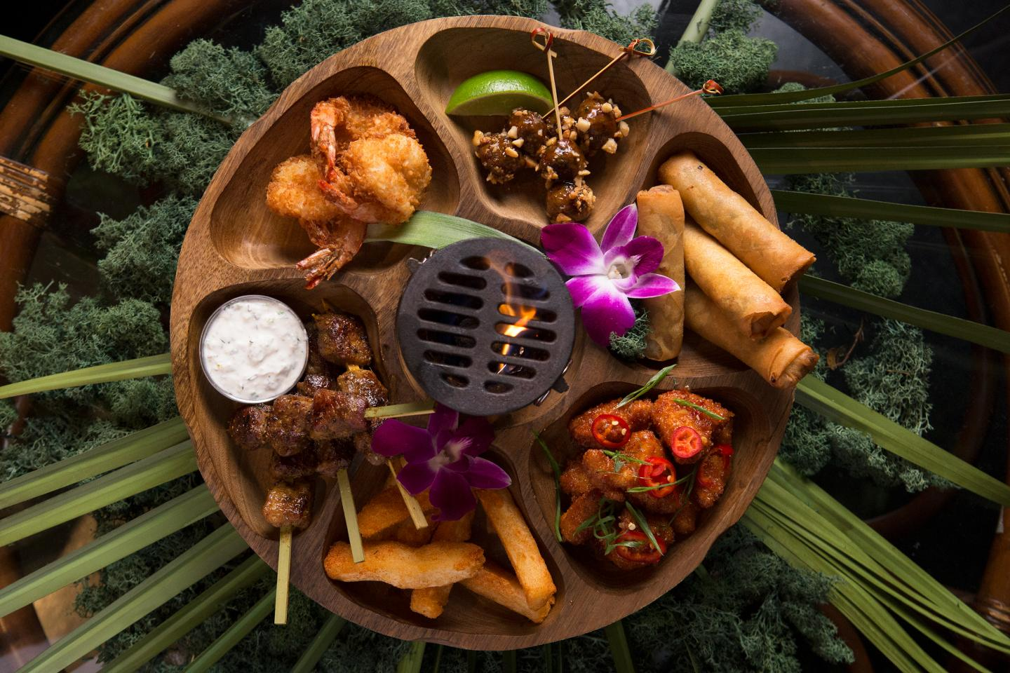 Three Dots Pu Pu Platter