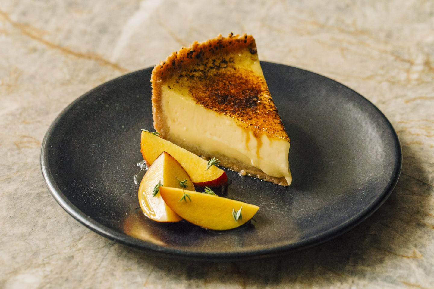 Aba Creme Brulee Pie