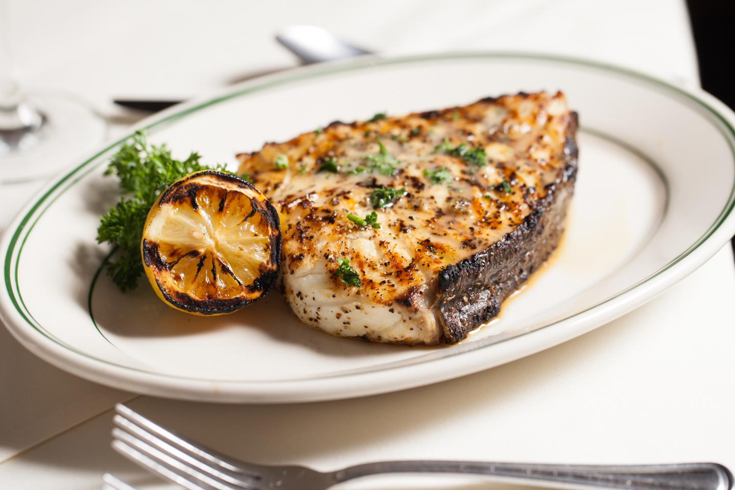 Joe's Bone In Alaskan Halibut