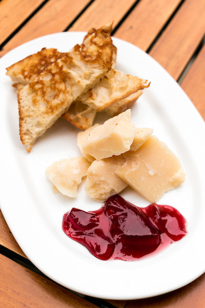 Chianti Jelly with Parmigiano-Reggiano