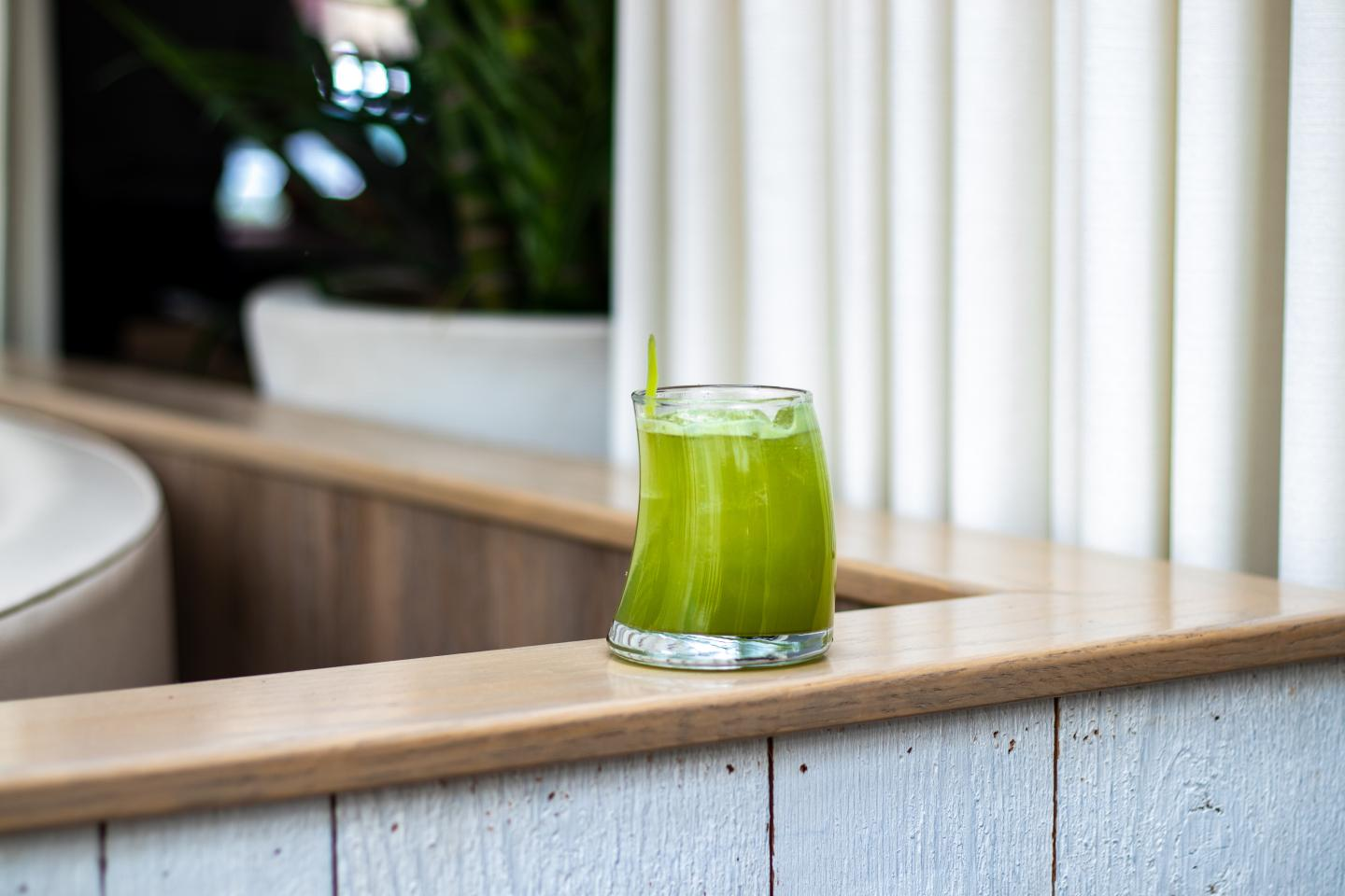 Matcha Cocktail from Summer House Santa Monica