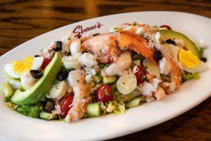 Shaw's Seafood Salad at Taste of Lettuce
