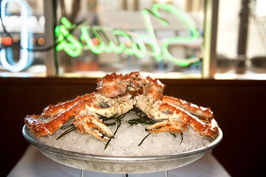 You Can Now Order a Whole Alaskan King Crab at Shaw's