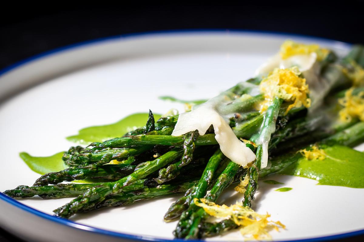 Asparagus dish from Stella Barra