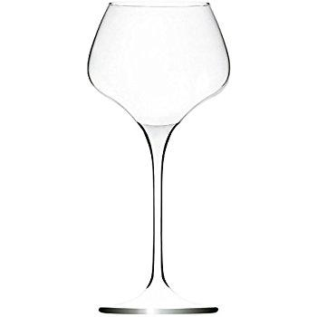 image of a wine glass with a back background