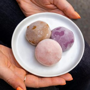 Ice cream mochi from Wow Bao