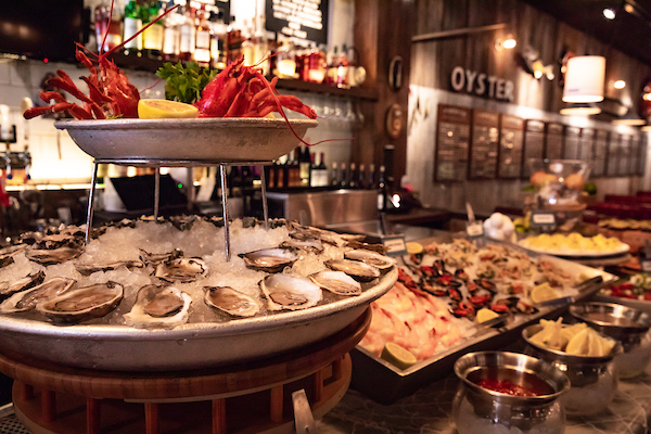Oyster Bah's new Seafood Brunch Buffet