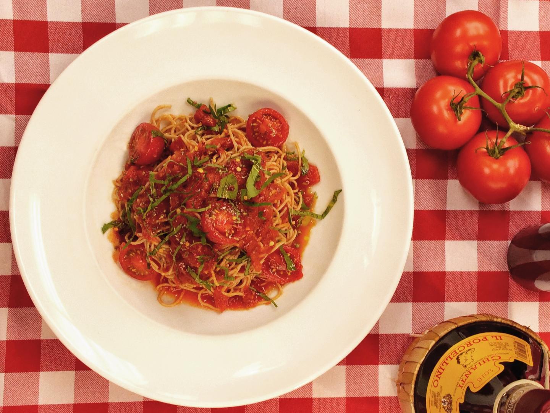 pasta from il porcellino