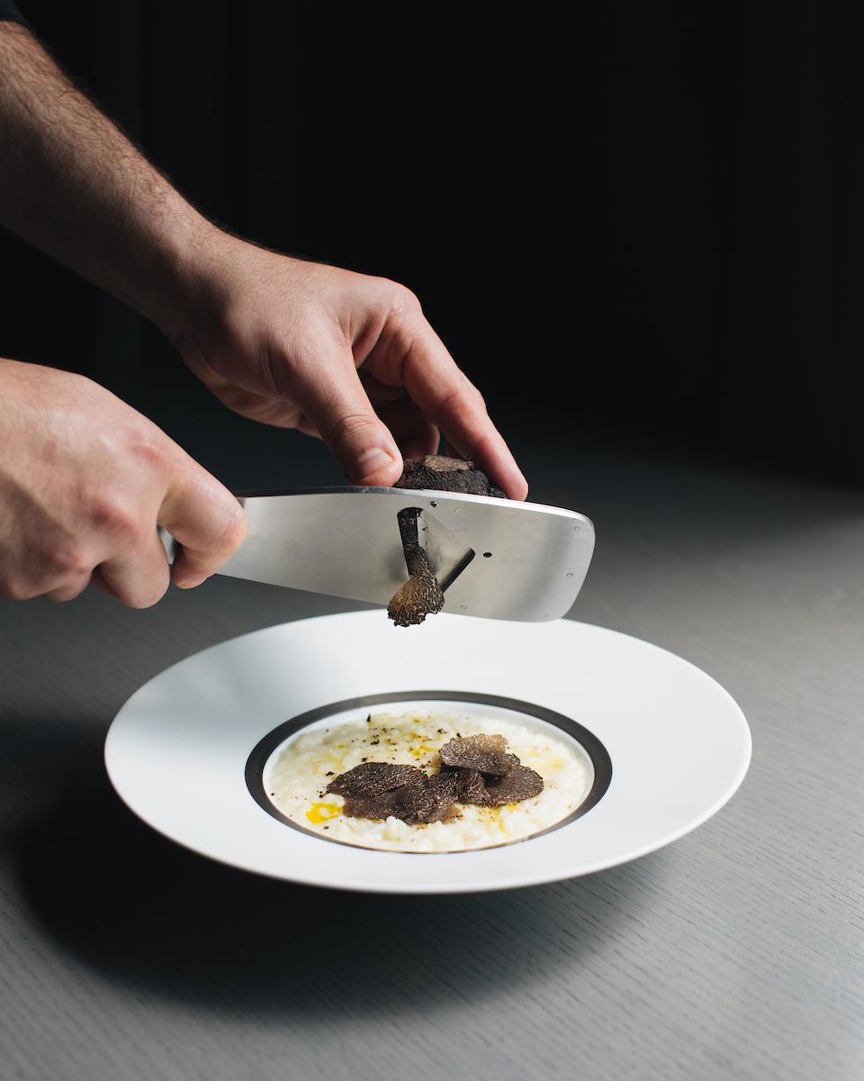 Truffle Risotto at RPM Steak