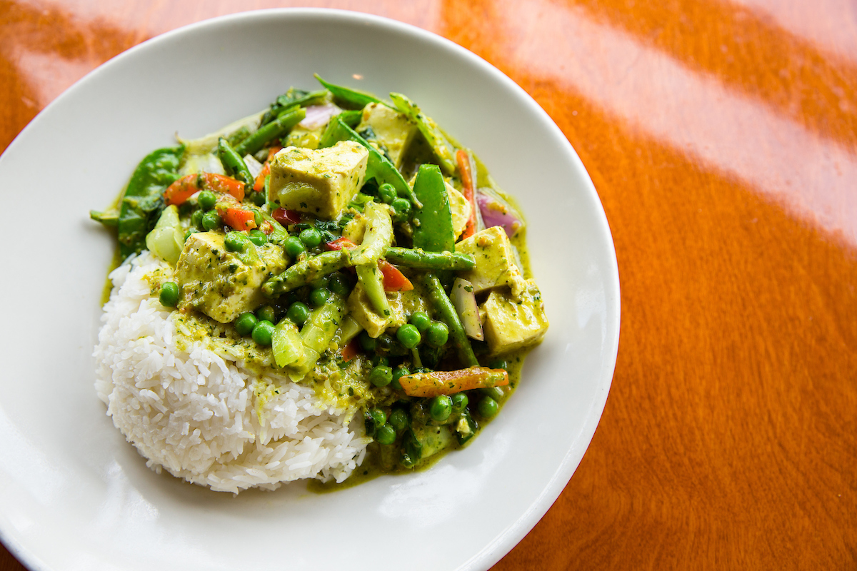 big bowl thai green vegetable curry