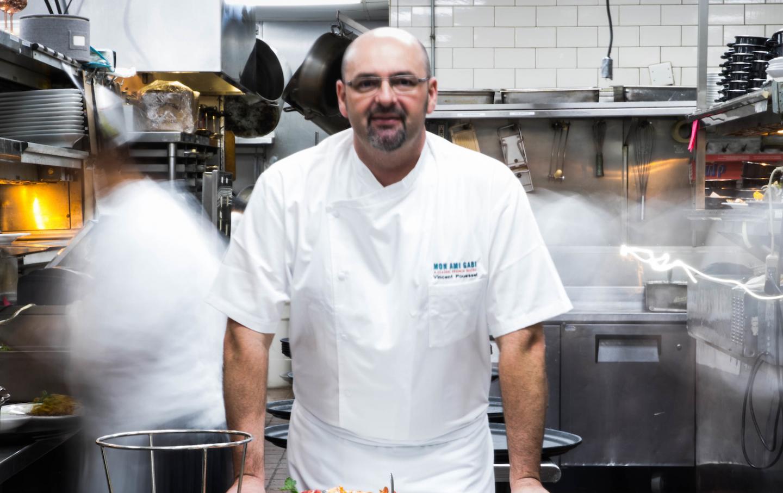 Mon Ami Gabi Vegas Chef Vincent pouessel