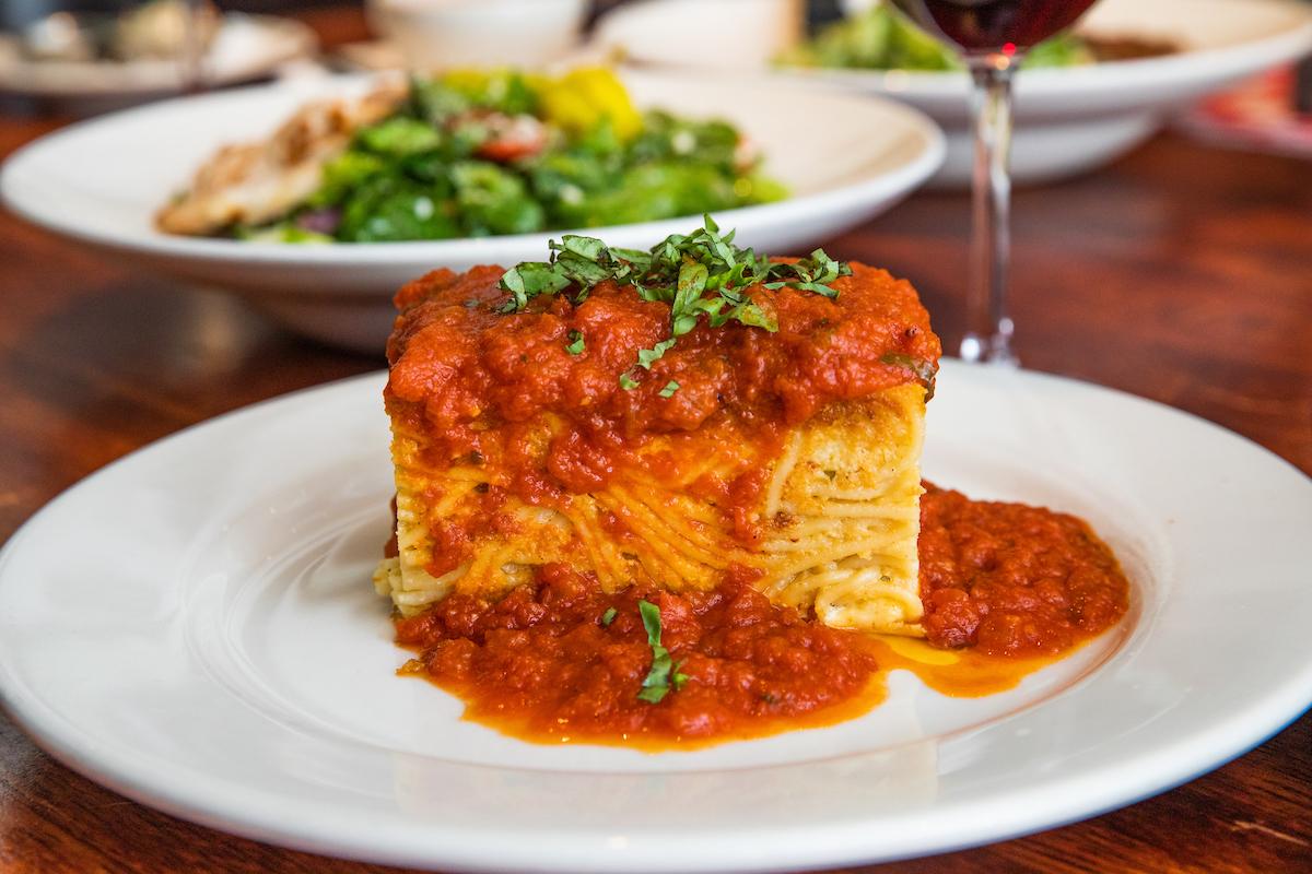 tucci's famous baked spaghetti