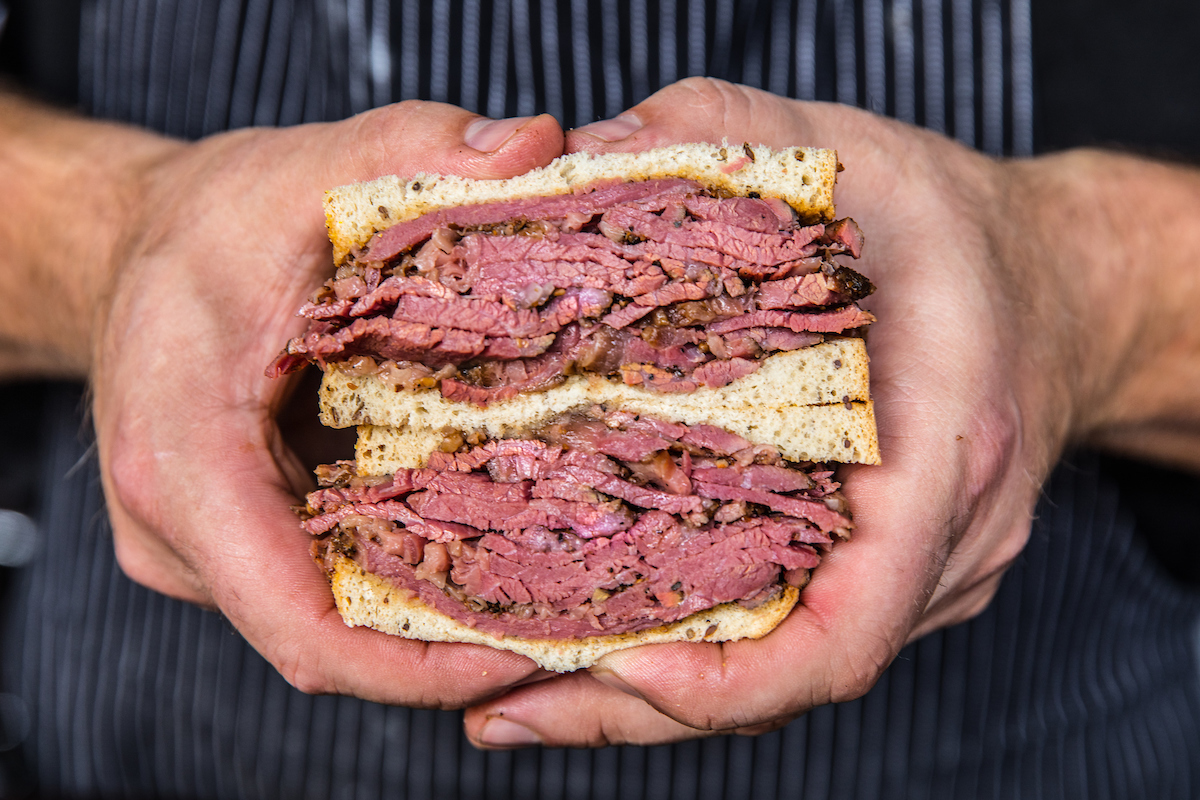 Bub City Pastrami Sandwich
