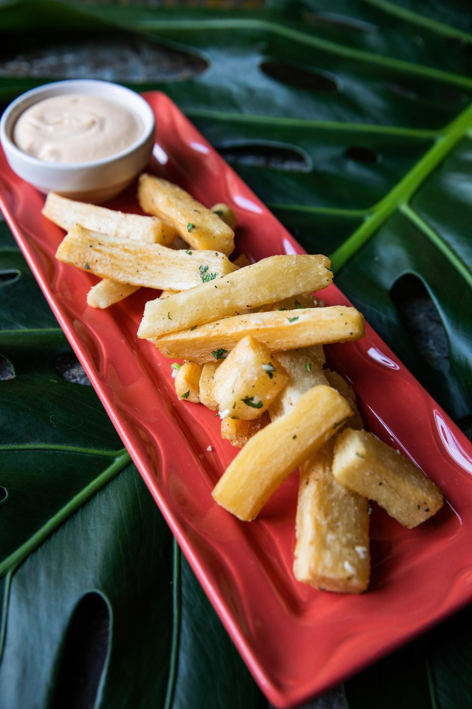 Yucca Fries at Nacional 27